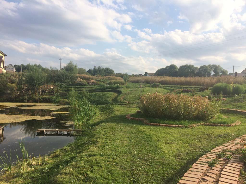 Японский сад. Зинино