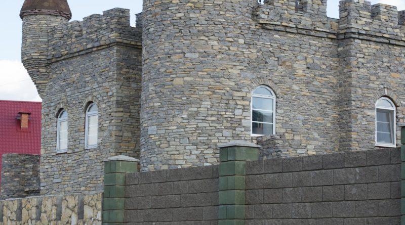 Шотландский замок в Нагаево