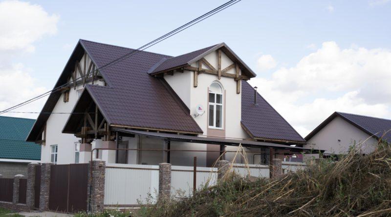 Швейцарский дом-шале в Нагаево