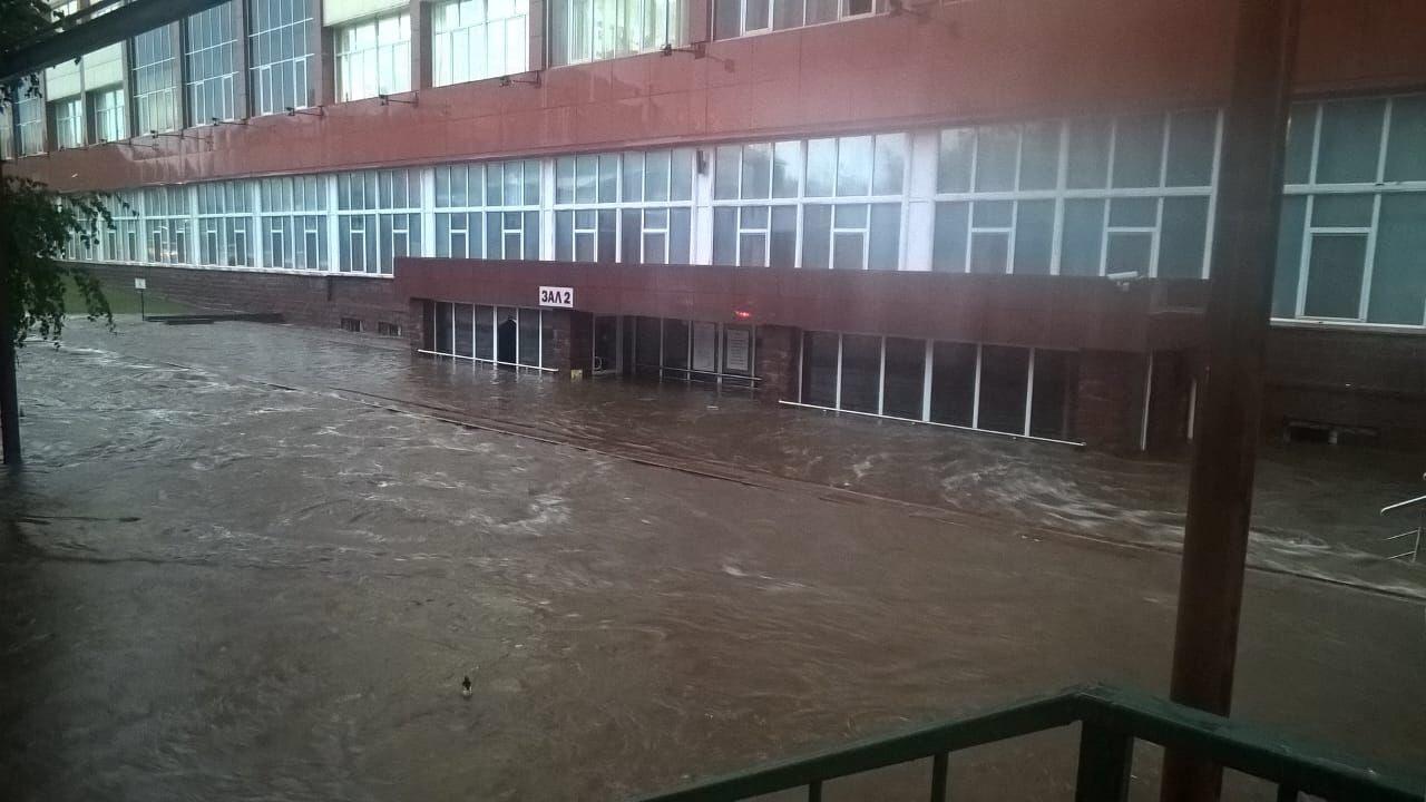 Наводнение в Уфе (04.09.2017)
