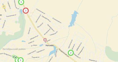 Карта ремонта дорог Нагаево