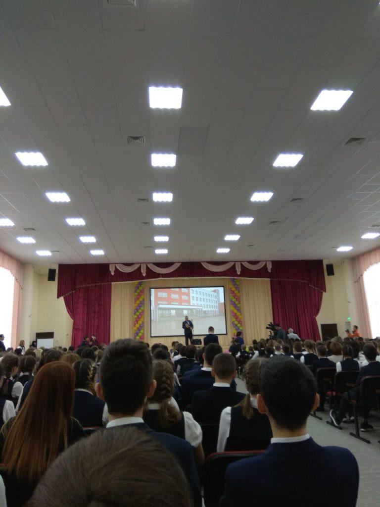 Ключ от школы в Нагаево
