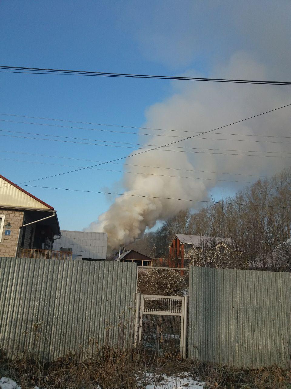 Пожар Нагаево Заборская