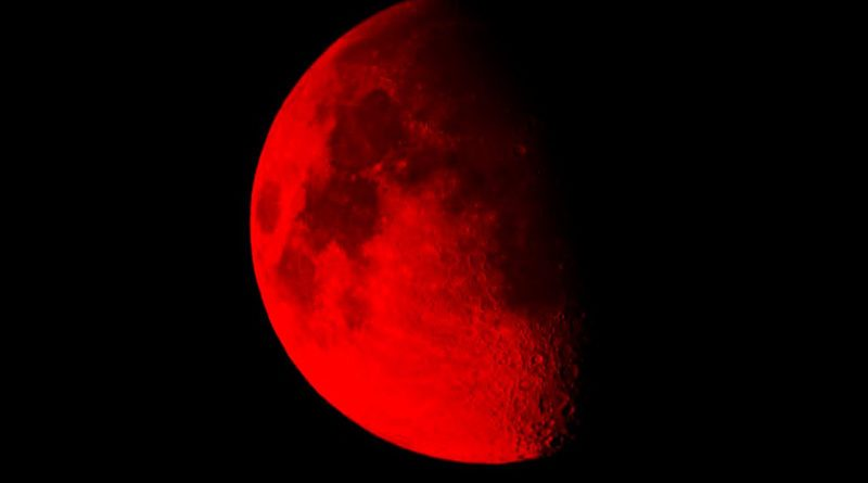 Лунное затмение 31 января 2018