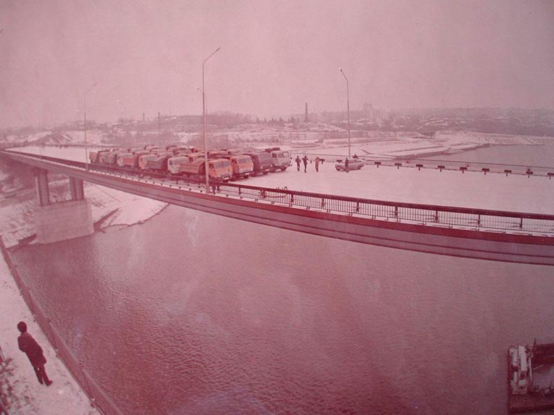 Новый мост в Уфе