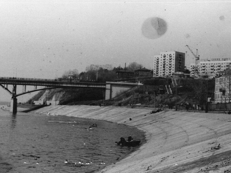 Старый мост в Уфе