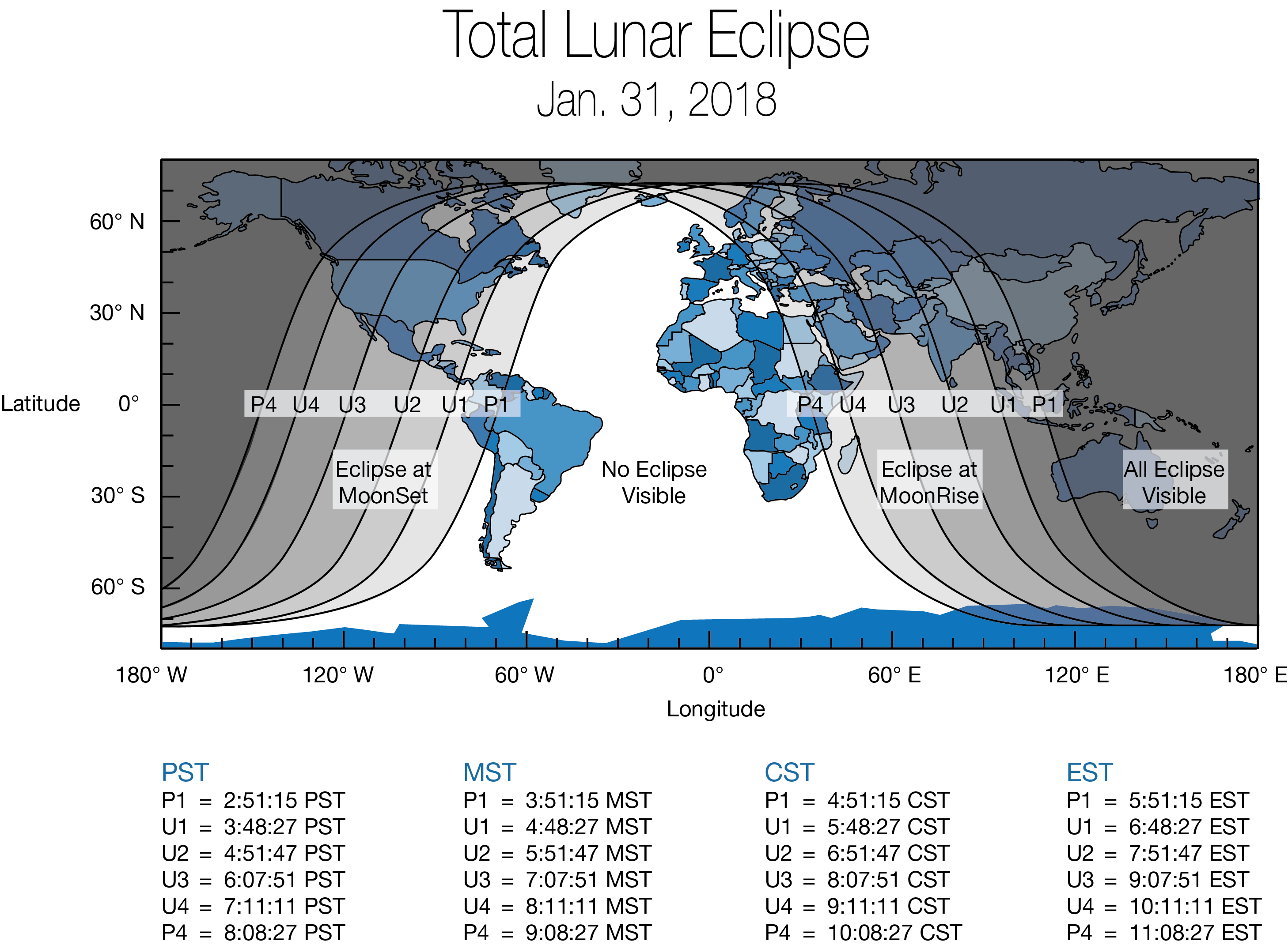 global lunar eclipse