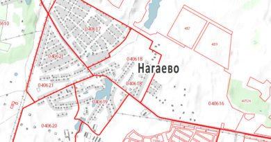 Кадастровая карта Нагаево