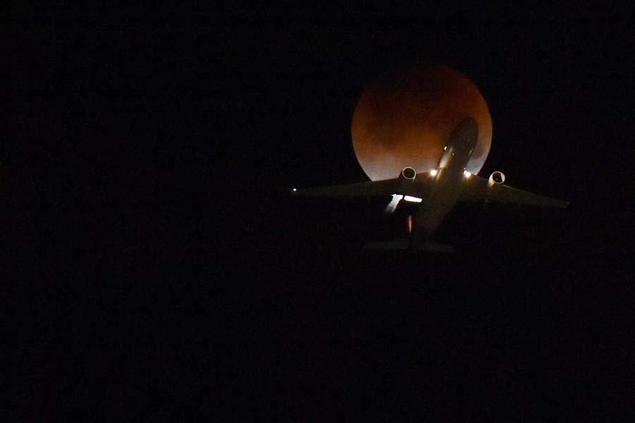 Super Blue Blood Moon Eclipse