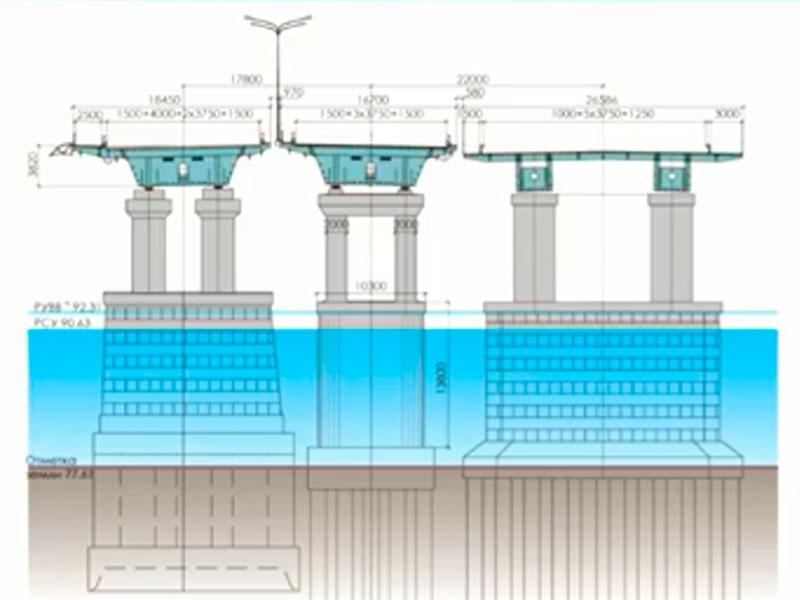 Реконструкция моста через Белую (этап 2)