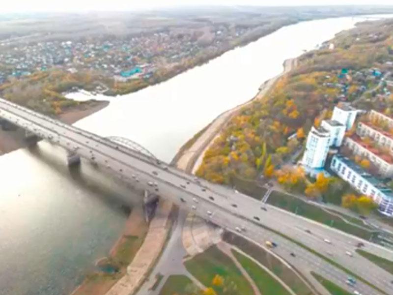 Реконструкция моста через Белую (этап 1)