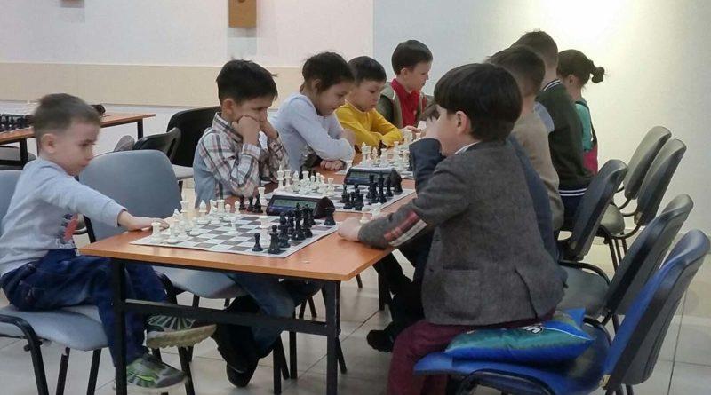 Юные шахматисты Нагаево