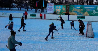 Хоккей в Нагаево