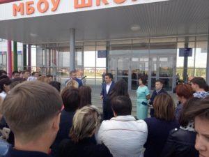 Встреча Ирека Ялалова с жителями поселка Нагаево