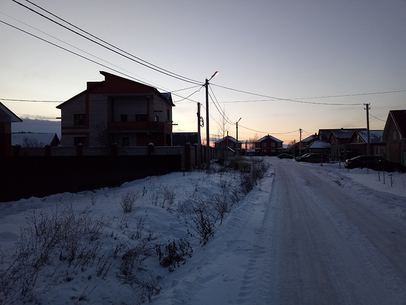 Освещение улицы Булярской