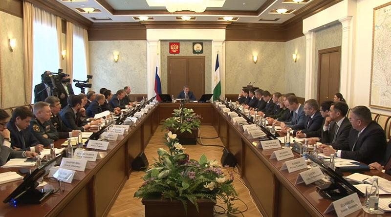 Оперативное совещание в Правительстве РБ от 14 января 2019 года